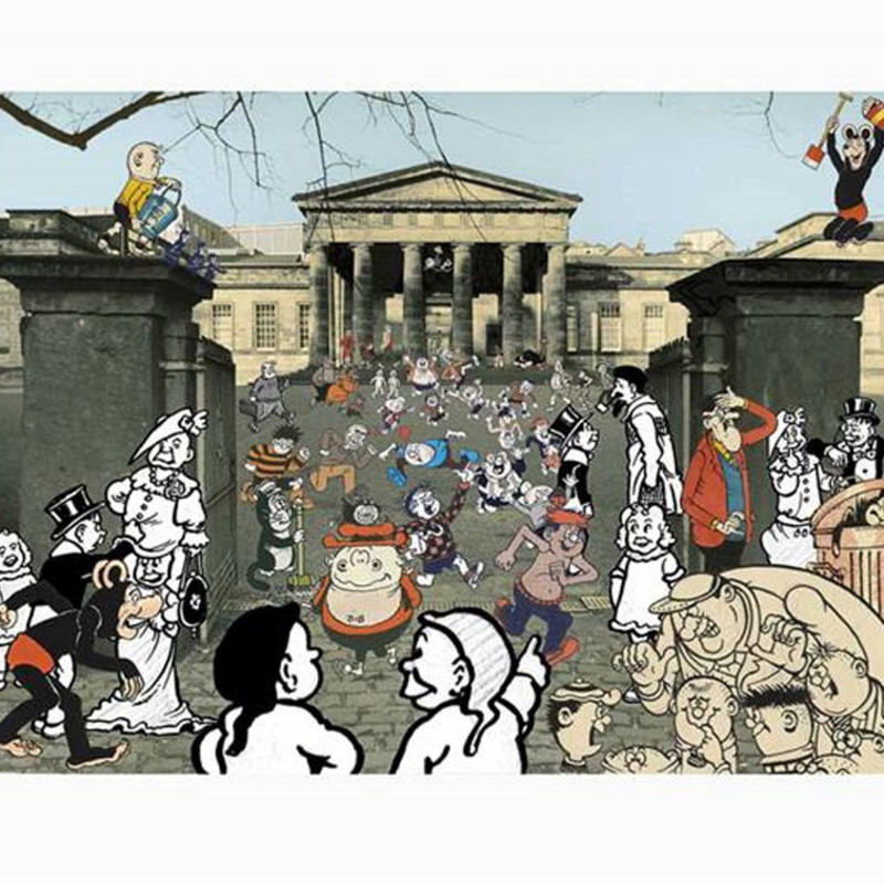 Peter Blake, 75 Years of The Beano