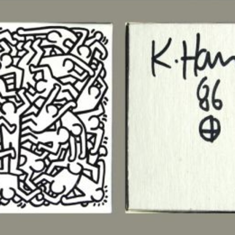 Keith Haring, Jigsaw Puzzle, 1986