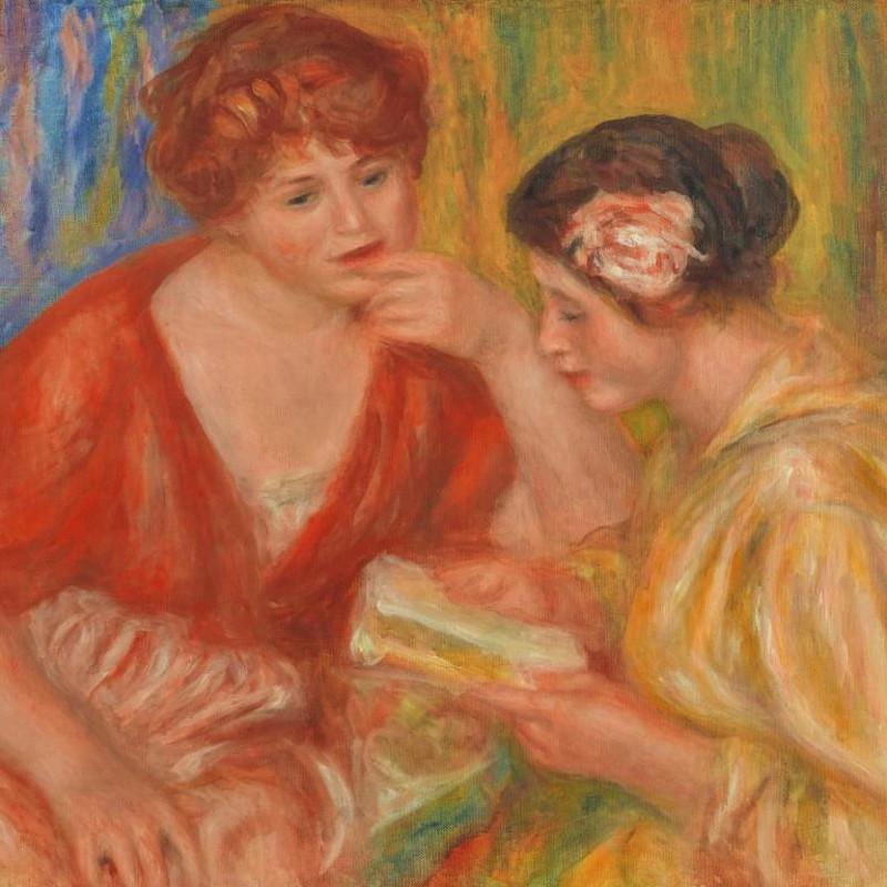 Pierre-Auguste Renoir - La Lecture, 1918
