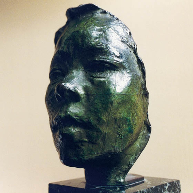 Auguste Rodin - Mask of Hanako, c.1908