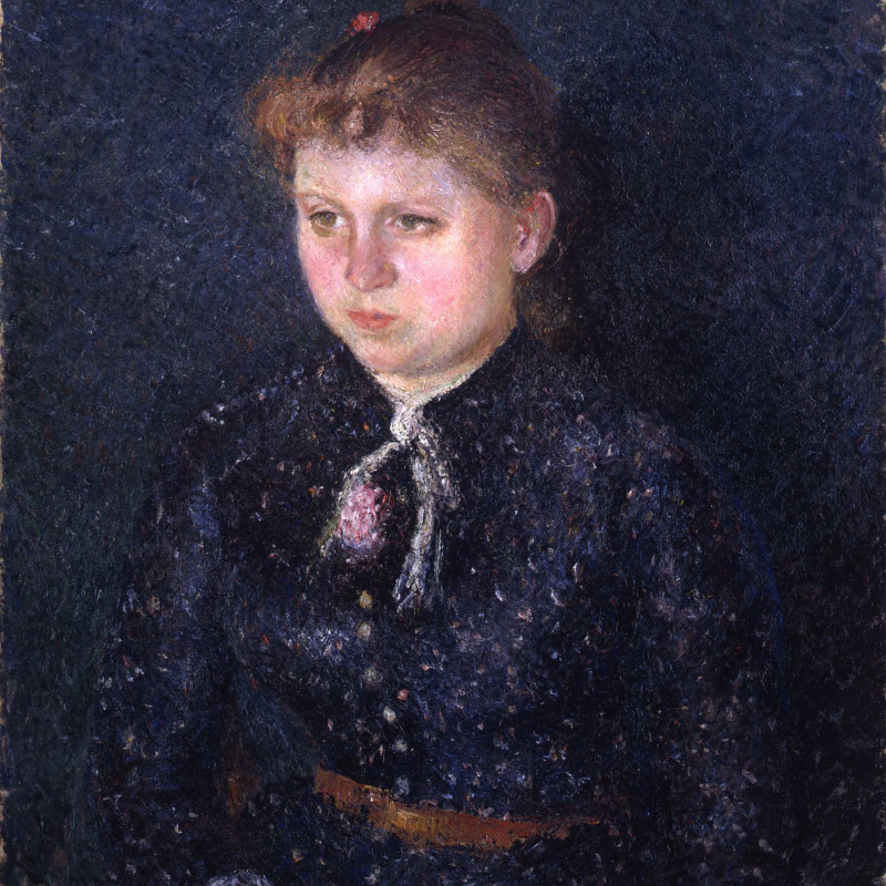 Camille Pissarro - Portrait de Nini , 1884