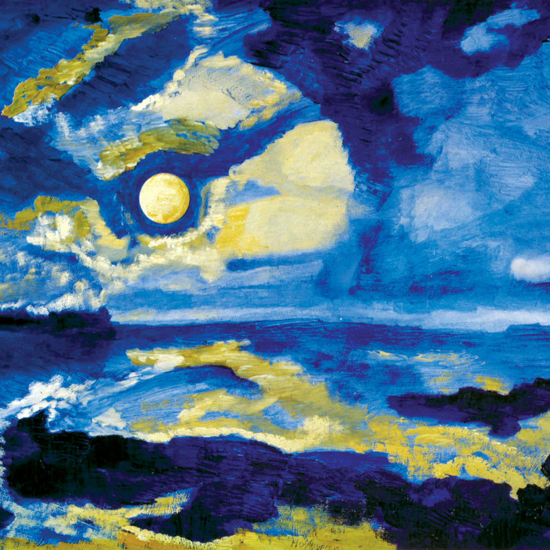Albert Houthuesen - September Moon, 1971-72
