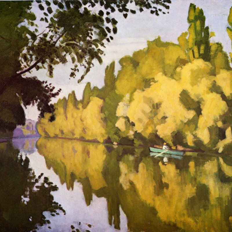 Albert Marquet - River scene