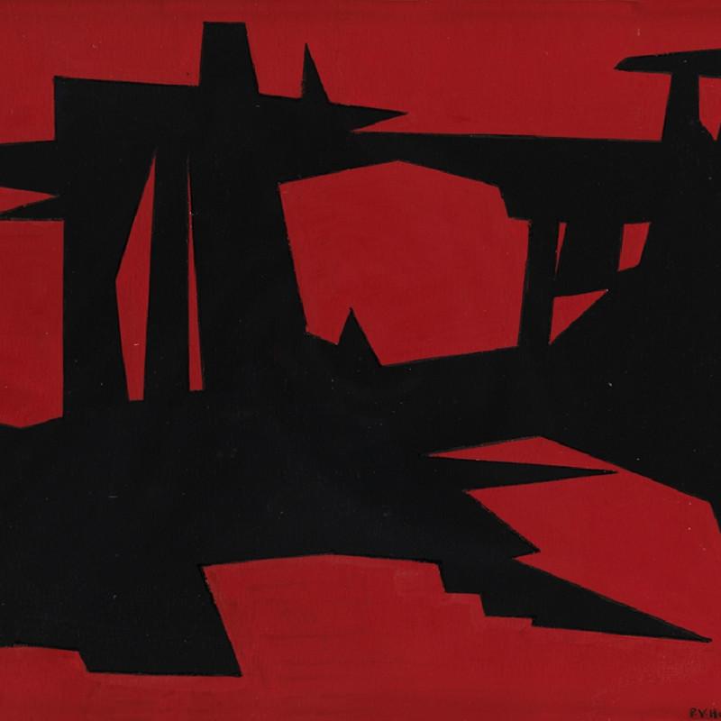 Paul Van Hoeydonck, PVH023 - Composition, 1957