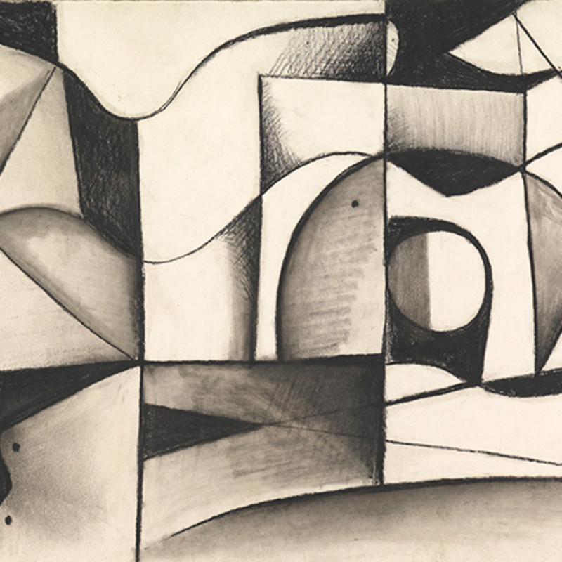 Caziel, WC706 - Composition, c. 1950