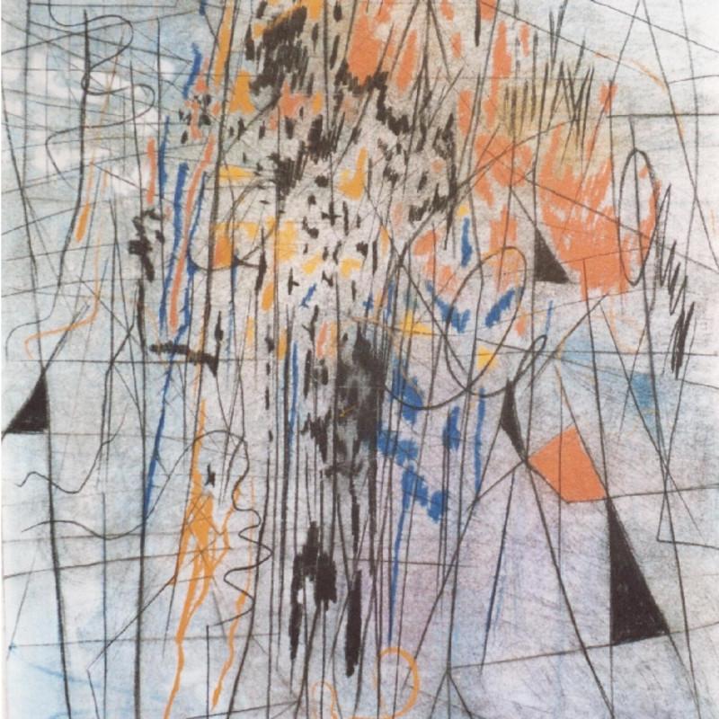 Caziel, WC526 - Composition 05.1965, 1965