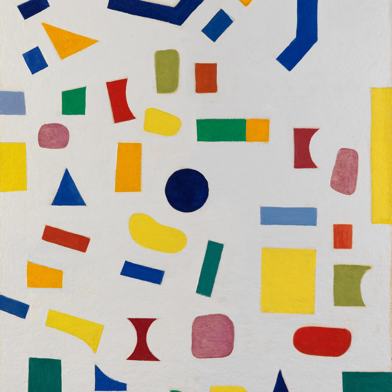 Caziel, WC784 - Composition 1967/22/6, 1967