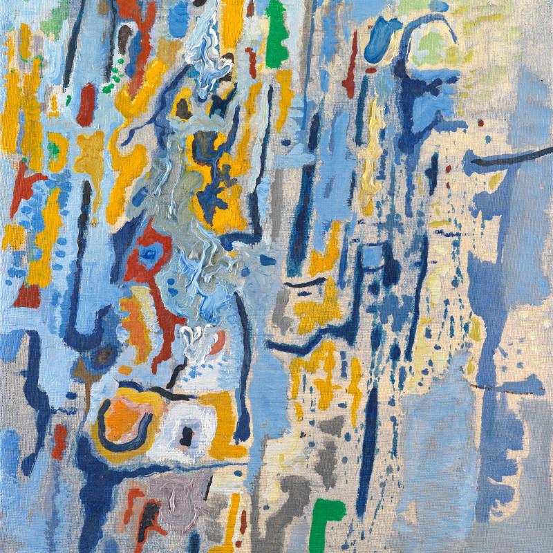 Caziel, WC765 - Composition XI/1965, 1965