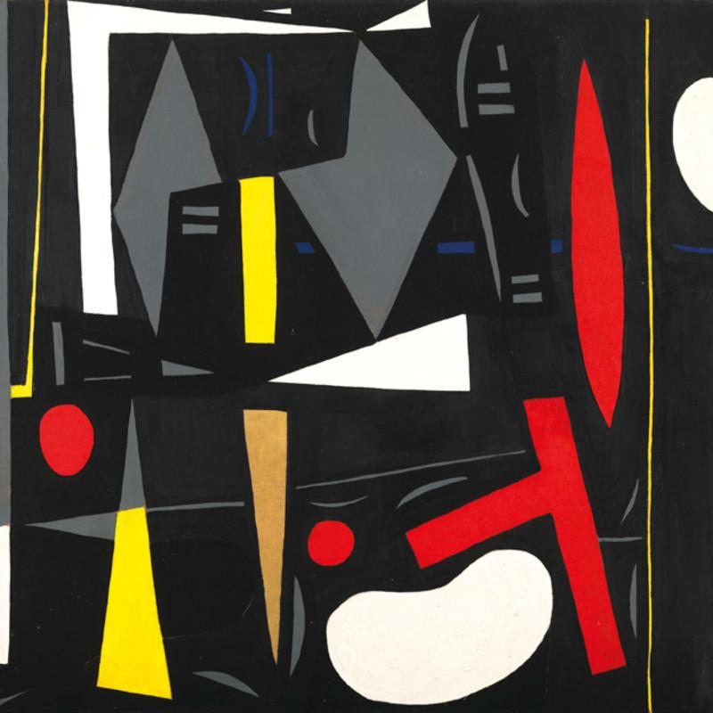 Caziel, WC146 - Architectonic Composition, 1952-53