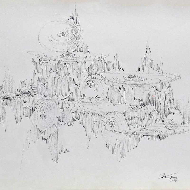 Paul Van Hoeydonck, PVH111 - Composition, 1961