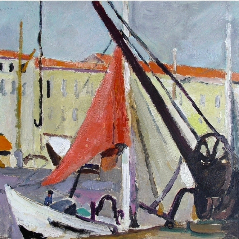 Mildred Bendall, Harbour, Ile de Ré, c. 1930