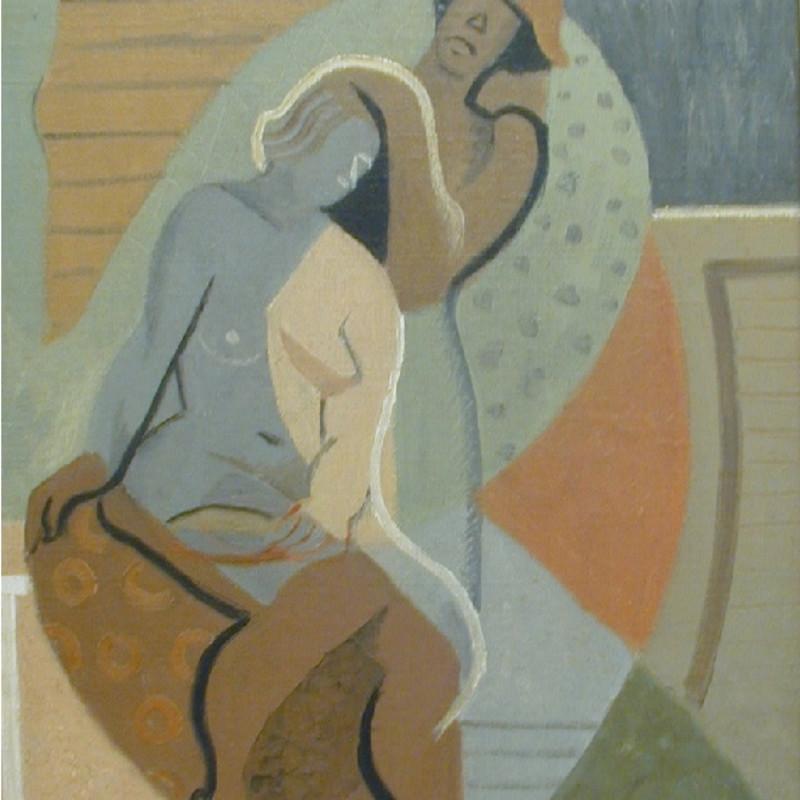 Cissie Kean, Morning Boudoir, c. 1920