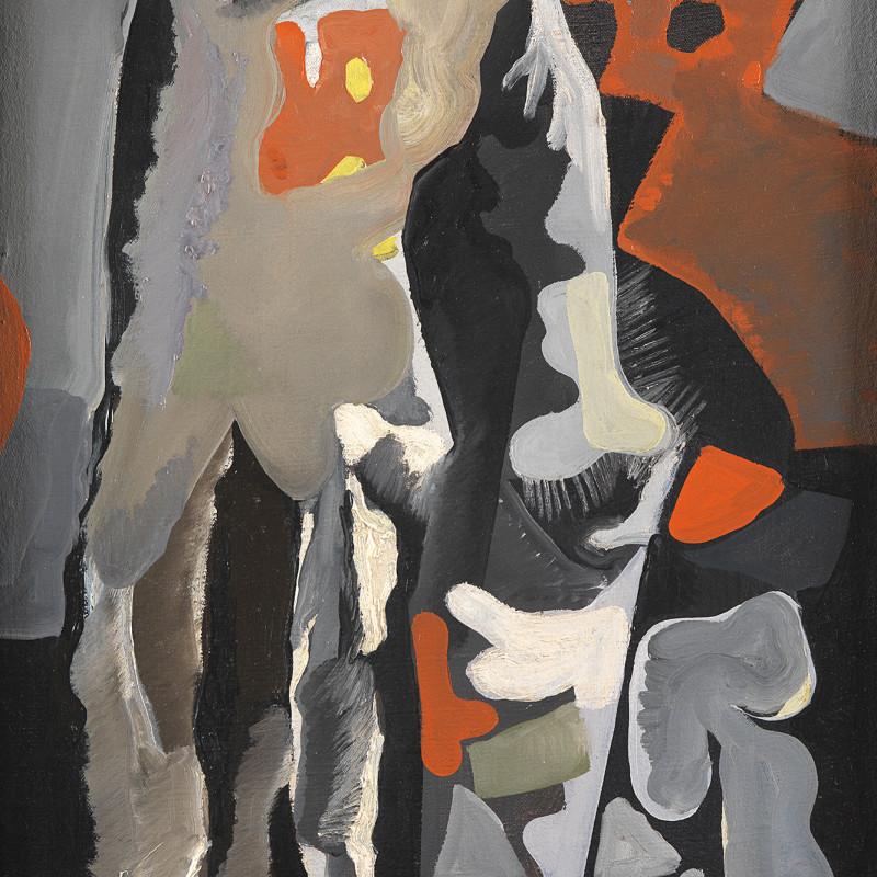 Caziel, WC240 - Composition no. 47, c. 1950