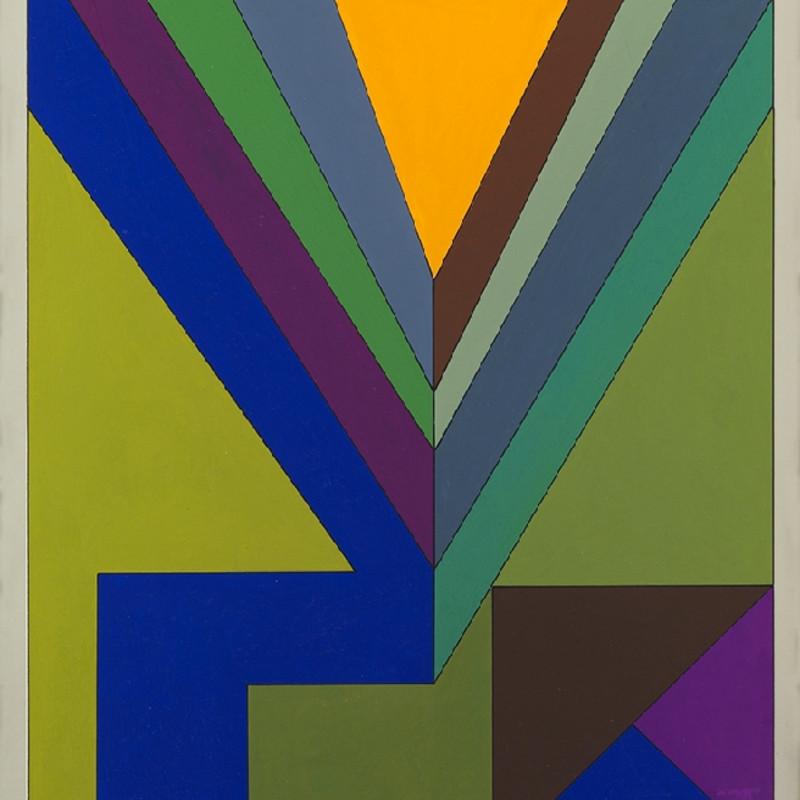 Guy Vandenbranden, Abstract Composition, 1973