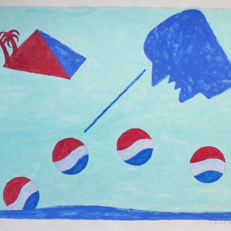 Derek Boshier, Pepsi Roller, 1962