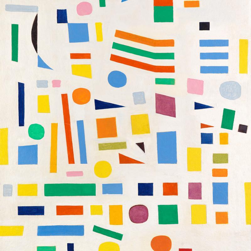 Caziel, WC785 - Composition 1967.9.VII, 1967