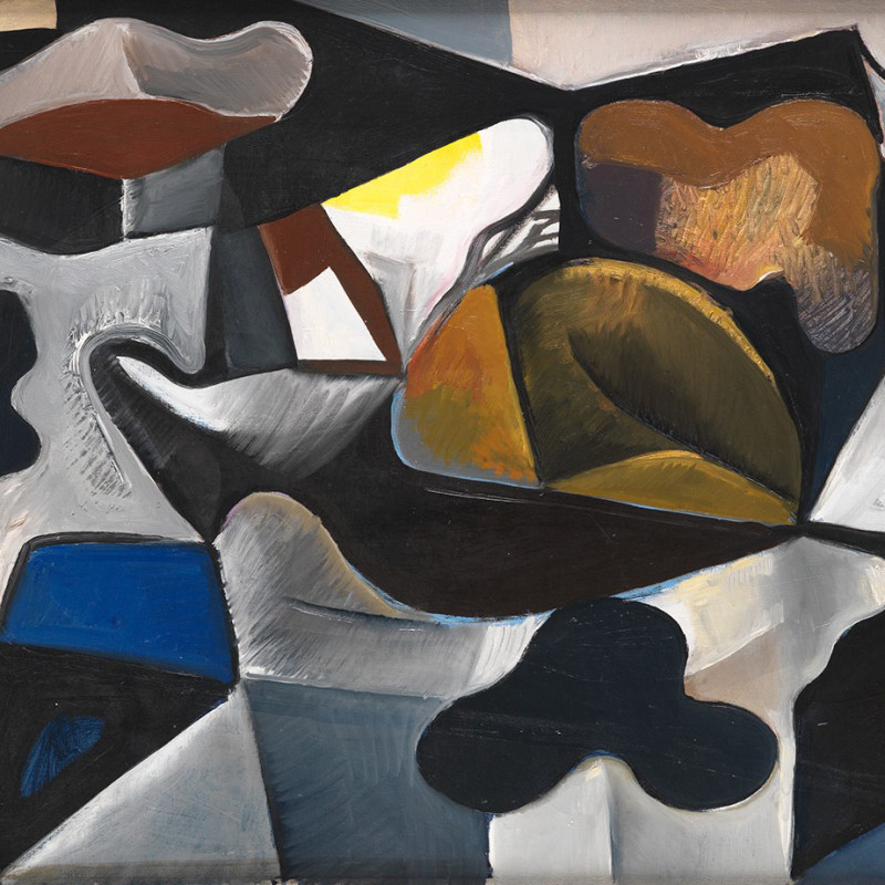 Caziel, WC141 - Composition with Organic Forms, c. 1950