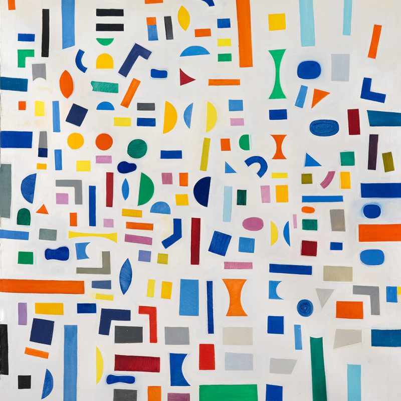 Caziel, WC655 - Abstract Composition 1967.5.IIX, 1967