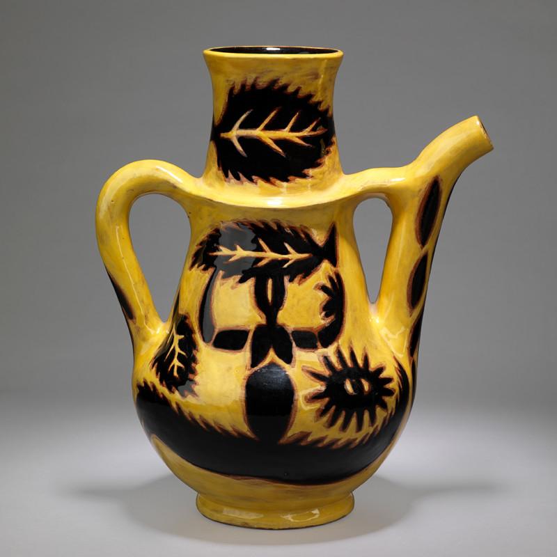 Jean Lurçat, Pichet - Yellow - Sun Dancer, c. 1955
