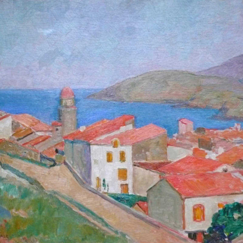 Mildred Bendall, Vue de Collioure, c. 1928