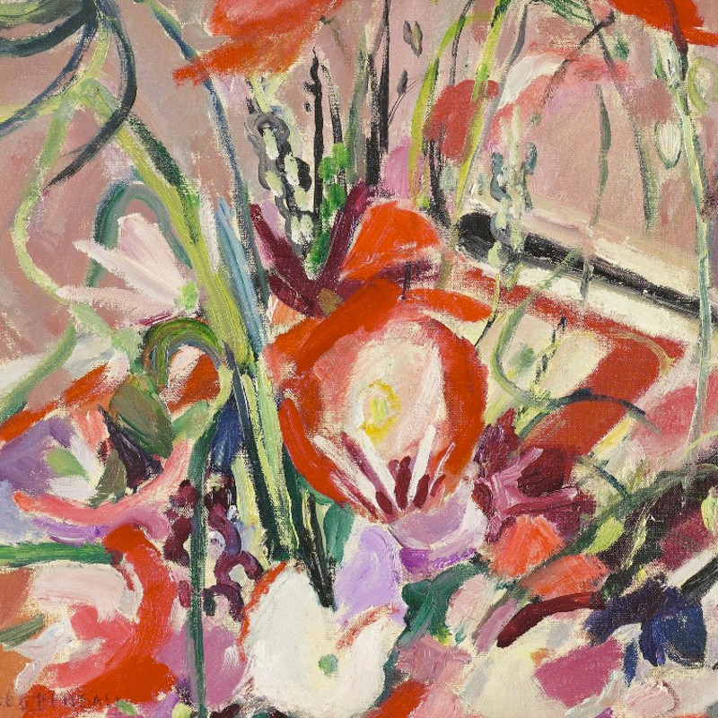 Mildred Bendall, Still Life with Poppies, c. 1939
