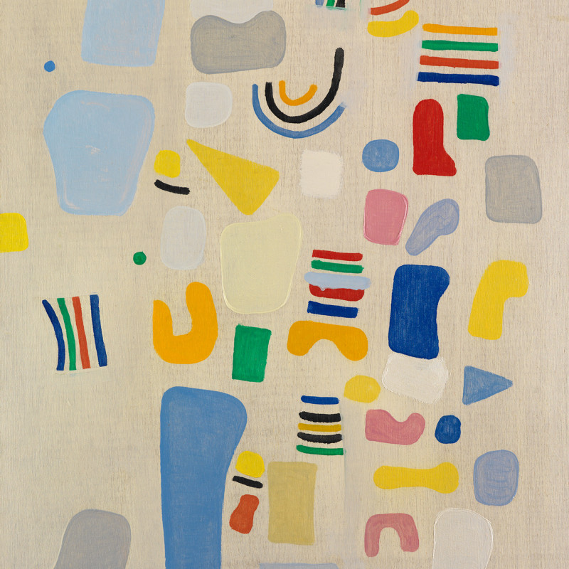 Caziel, WC780 - Composition 1967.V, 1967