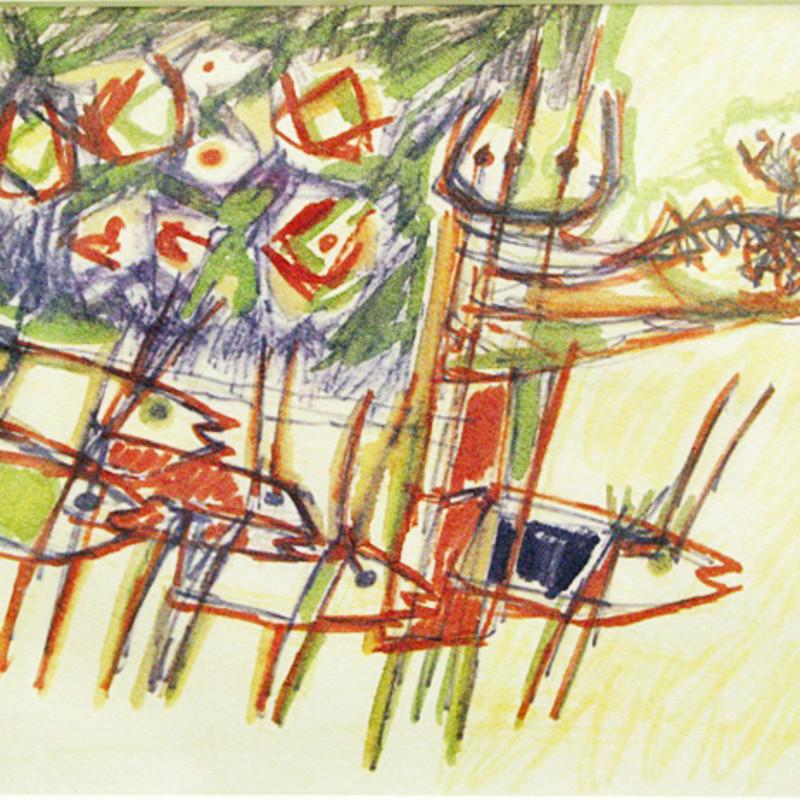 Stefan Knapp, The Offering, 1955