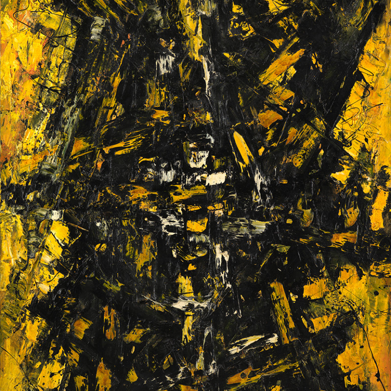 Frank Avray Wilson, FAW787 - Configuration in Yellow and Black, 1959
