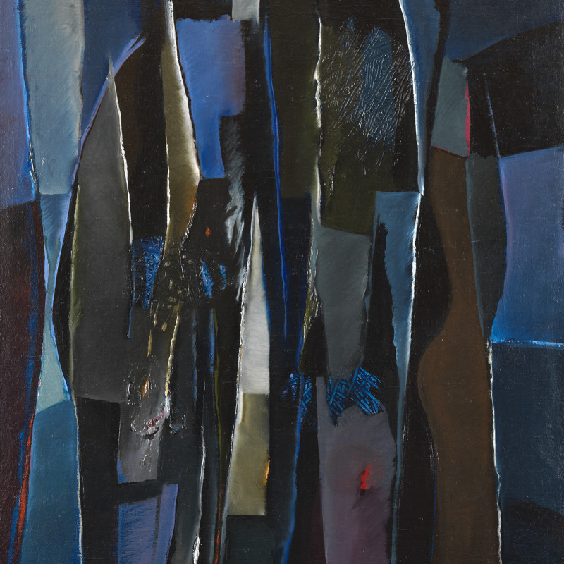 Caziel, WC474 - Composition 1965.VII, 1965