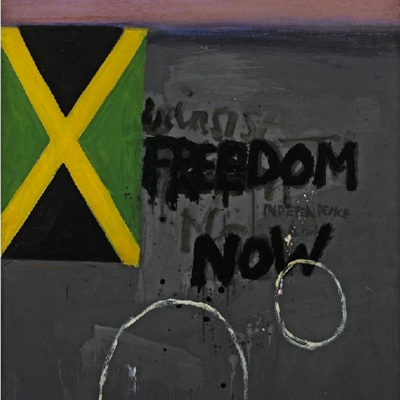 Adrian Henri, Painting for Jamaican Independence (from Liverpool 8 series, no. 5), 1962