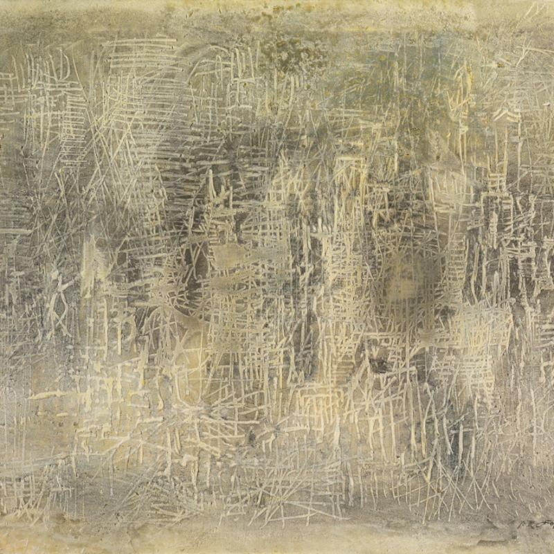 Reinhold Koehler, Sandbild 58 II, 1958