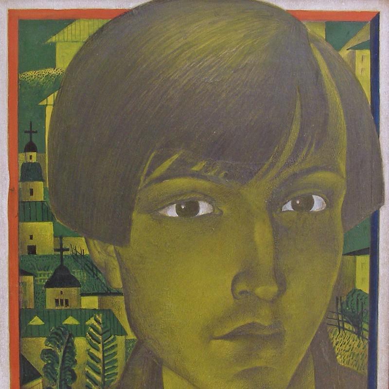 Simka Simkhovitch, Illustration for Russian Book, 1925