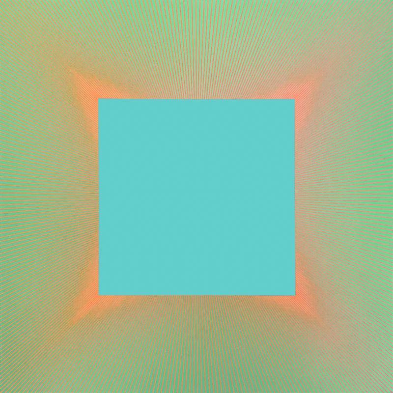 Richard Anuszkiewicz, Viridian Light #863, 1979
