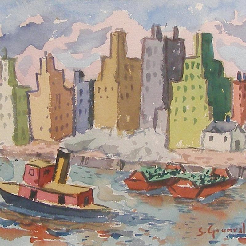 Samuel Grunvald, Skyline, East River