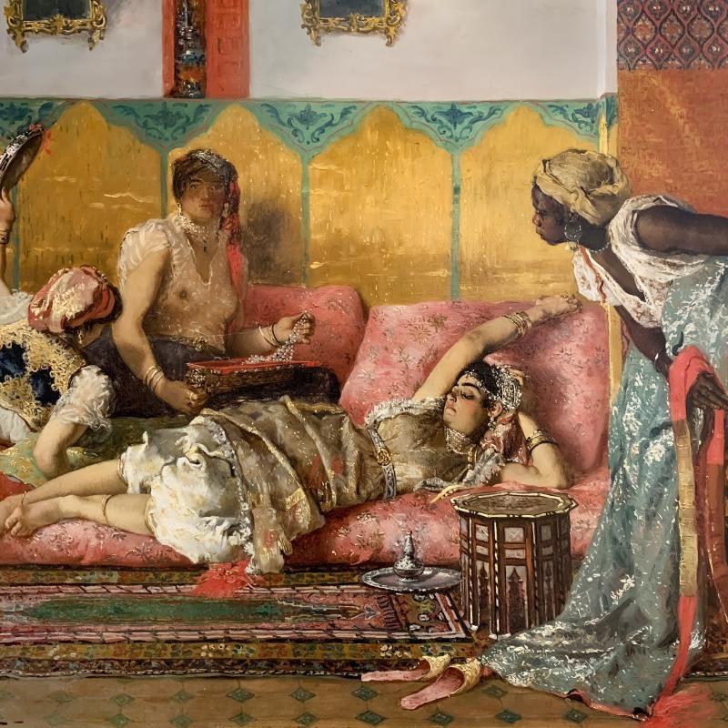 Ferdinand Victor Léon Roybet, The Favorite of the Harem, Circa 1880