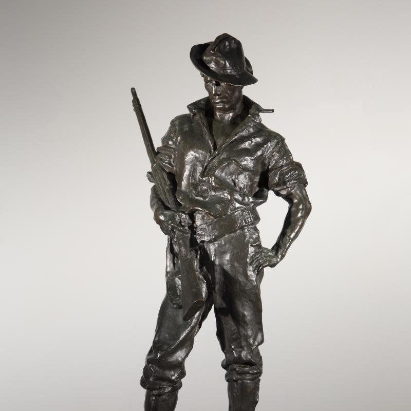 Allen George Newman, The Hiker, Conceived 1904, cast 1910