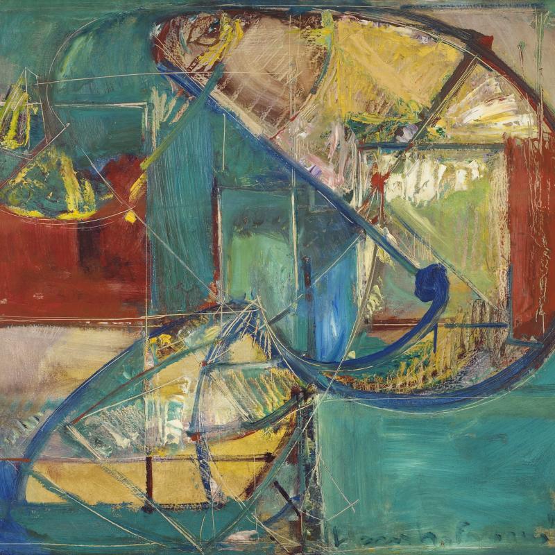 Hans Hofmann, Composition No. 43, Circa 1942