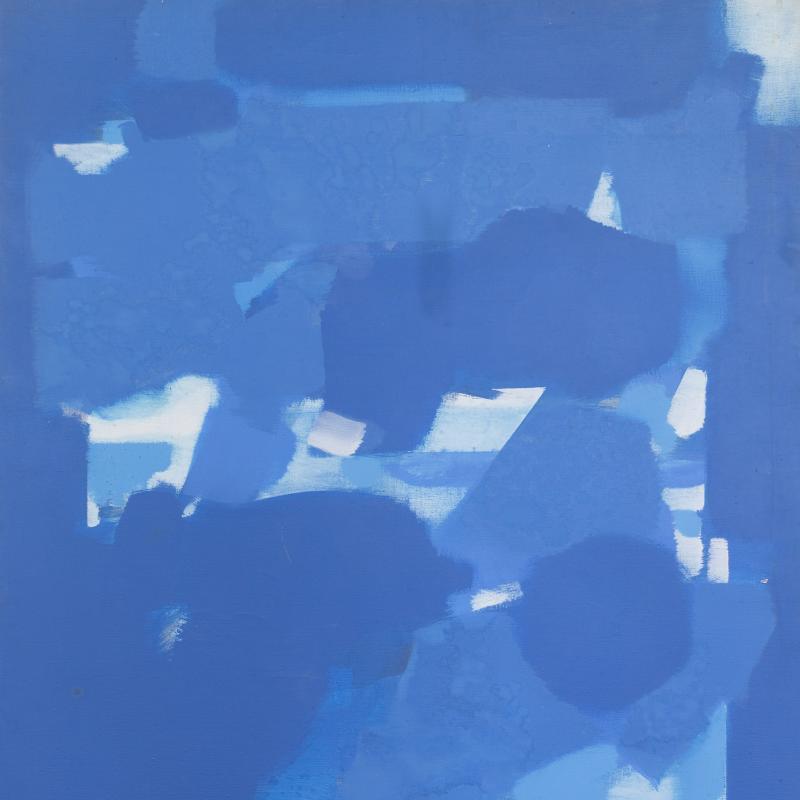 Carl Holty, Dark Blue