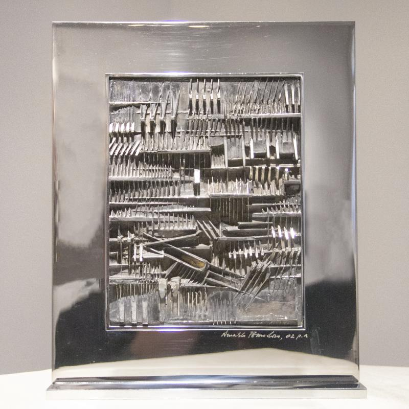 Arnaldo Pomodoro, Low Relief, 1973