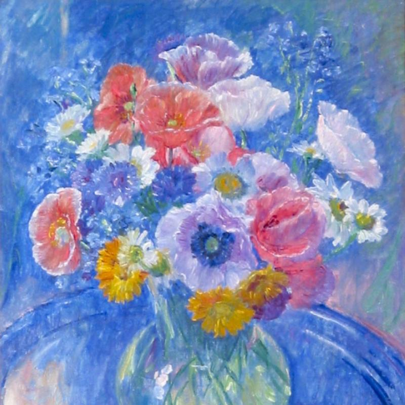William Malherbe, Un Bouquet de Fleurs, 1934