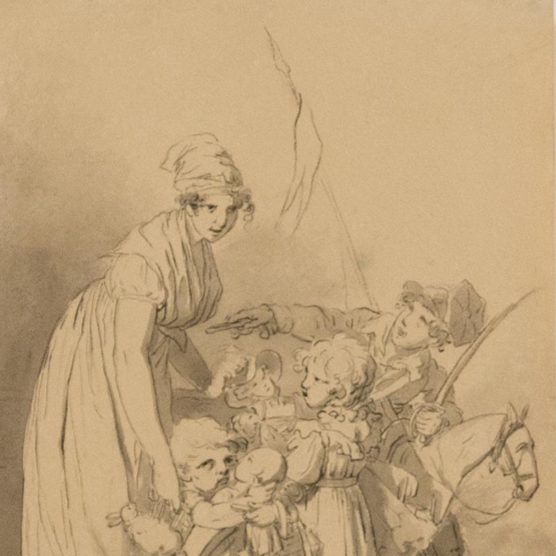 Louis-Leopold Boilly, Les Jouets du Jour de l'an