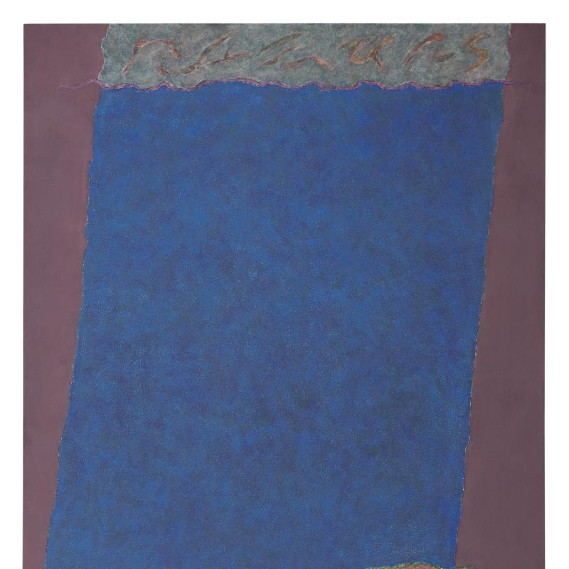 Theodoros Stamos, Infinity Field, Lefkada Series, 1979