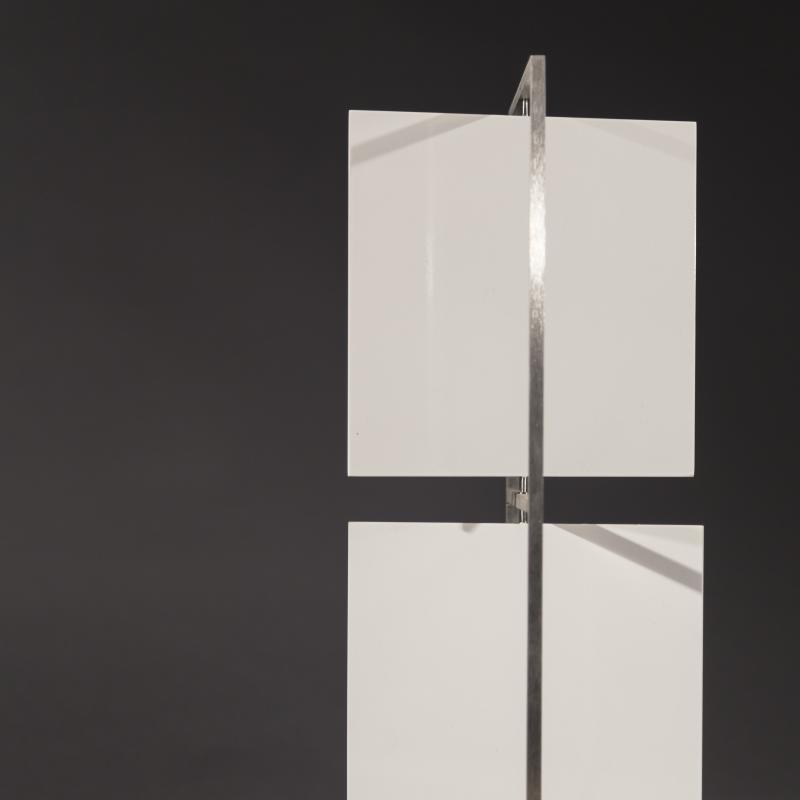 Roger Phillips, Two White Squares, 2017