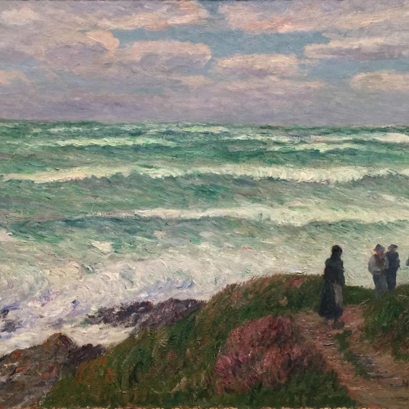 Henry Moret, Gros Temps, 1898