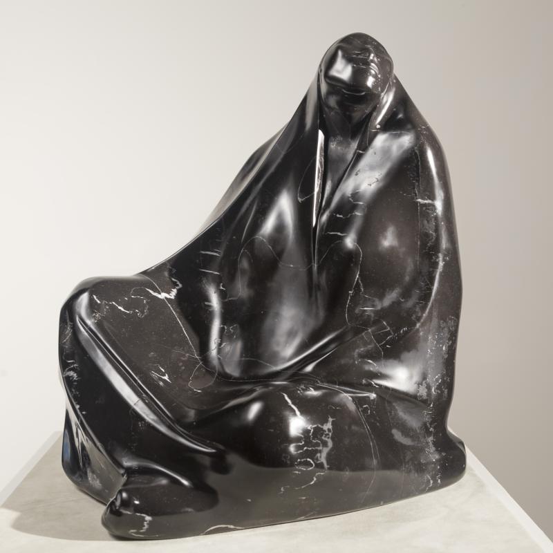 Francisco Zúñiga, Mujer Sentada con Rebozo, 1974