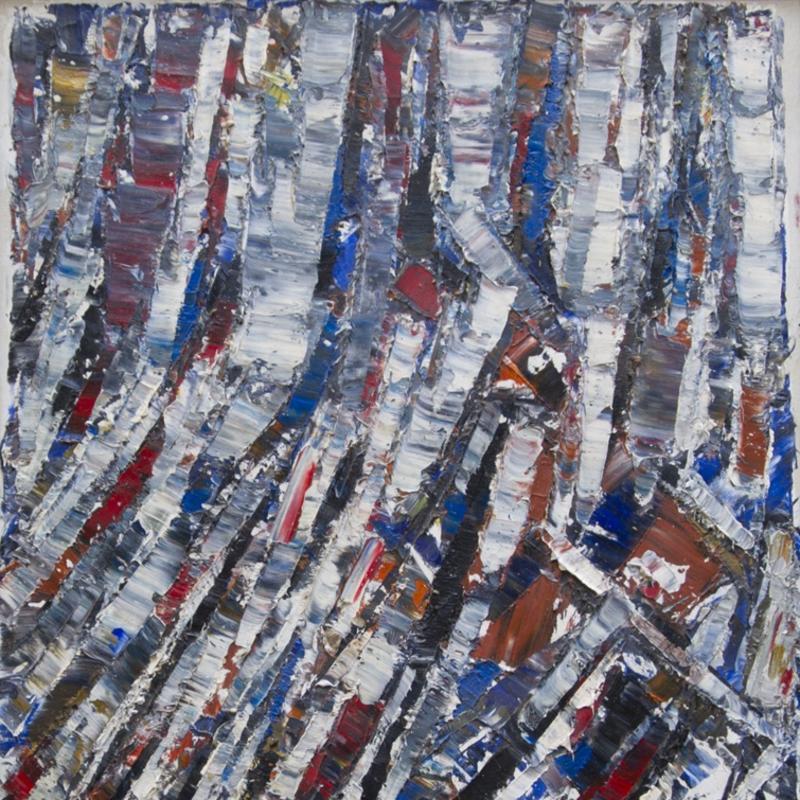 Jacques Germain, Composition Abstraite, 1978