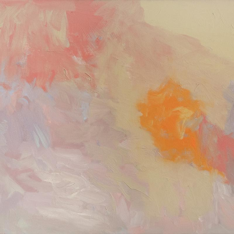 Felrath Hines, Landscape with Orange, 1963
