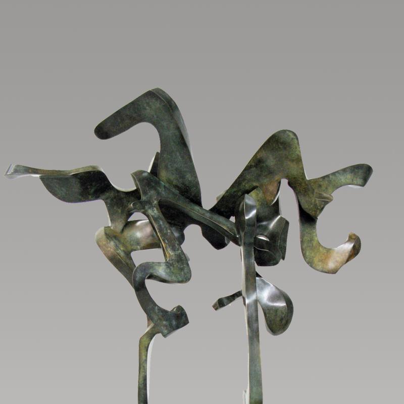 Bill Barrett, Flight in Abstract, 1996
