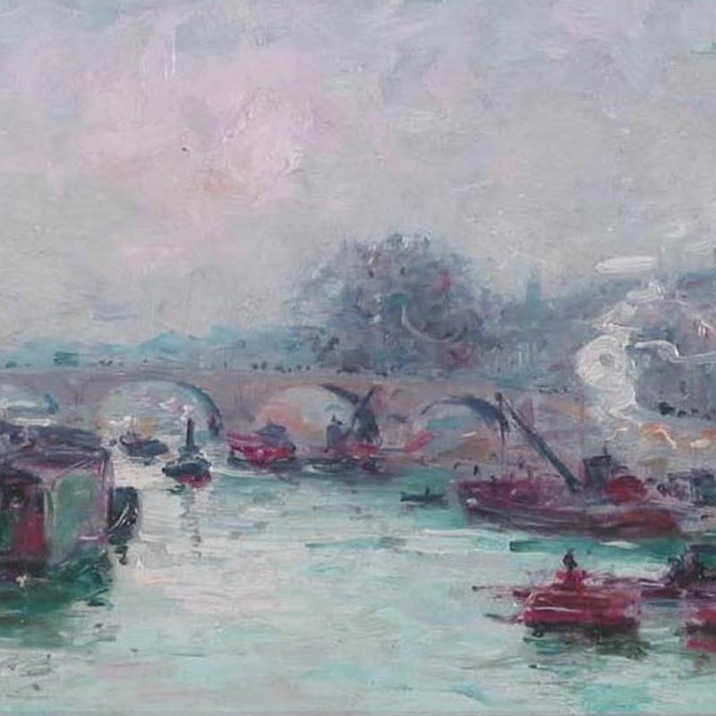 Gustave Madelain, Le Pont