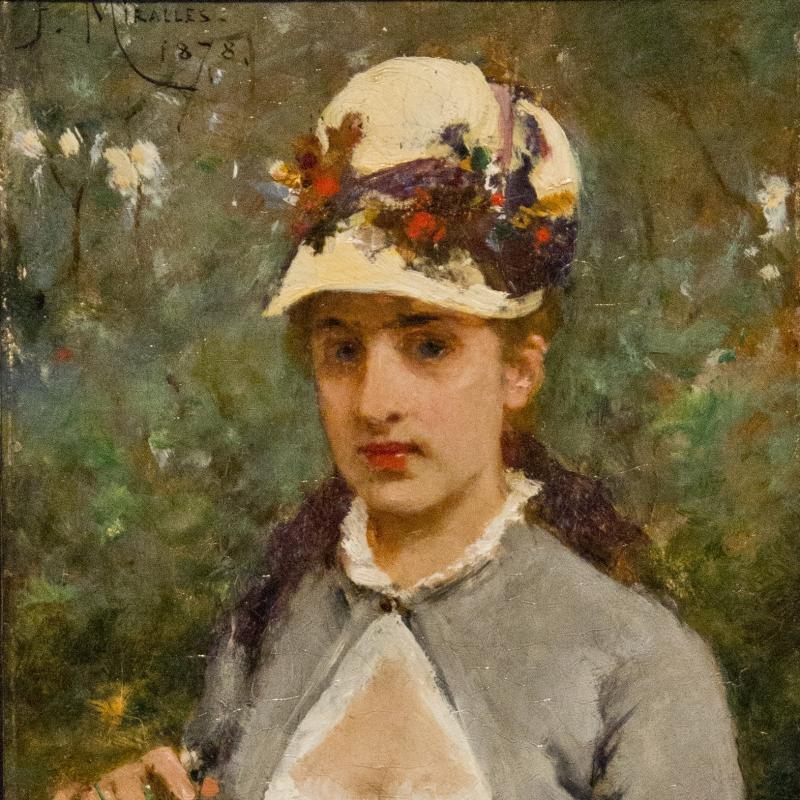 Francisco Miralles, Le Petit Bouquet, 1878